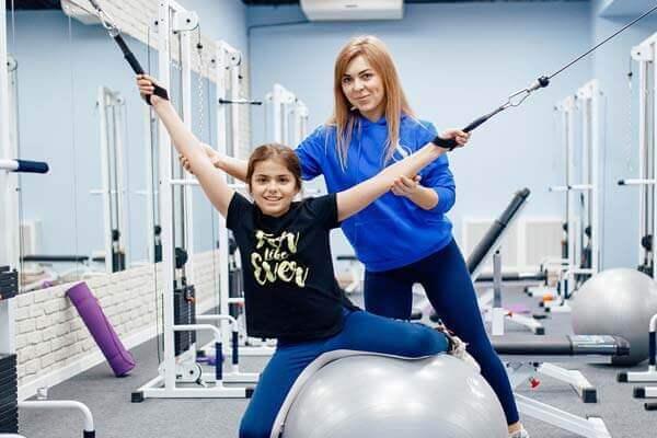 Оздоровительная физкультура для детей